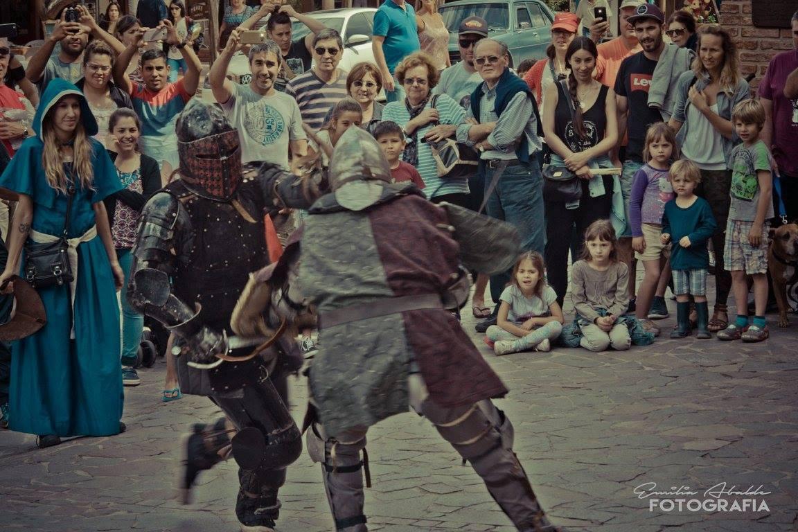 A capa y espada: Llega la era medieval a Villa General Belgrano