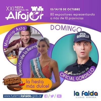 Fiesta Nacional del Alfajor en La Falda