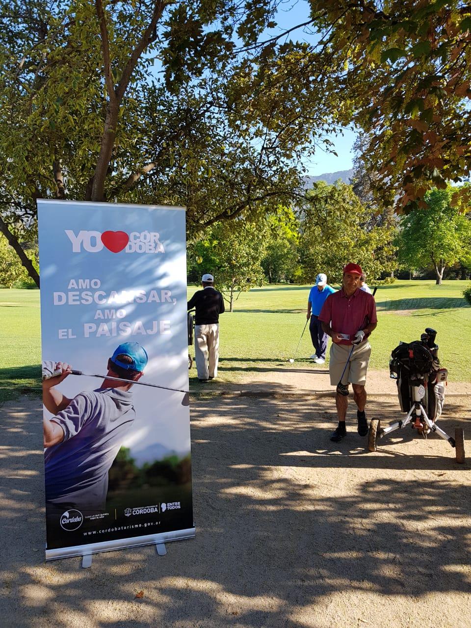 El finde en Santiago de Chile se realizó el Torneo Internacional Córdoba Casa de Golf