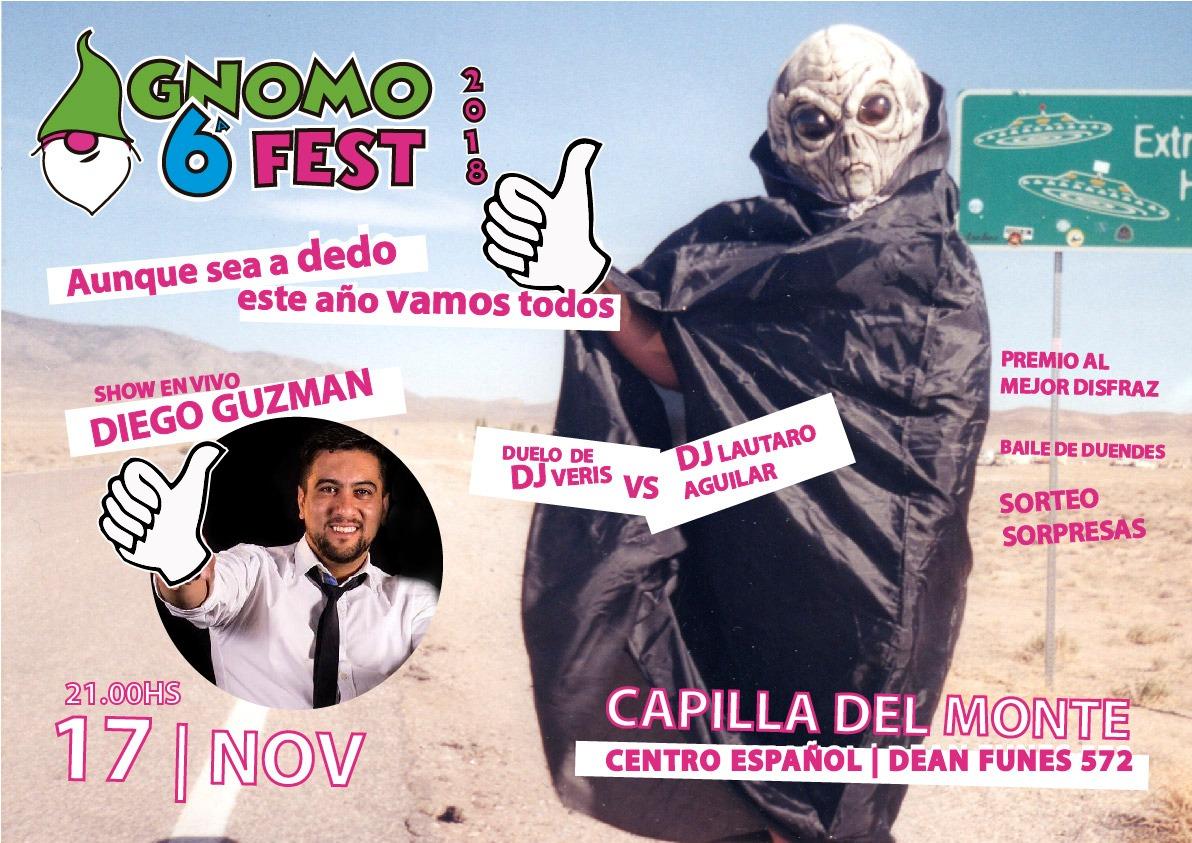 La 6° Gnomo Fest te espera en Capilla del Monte