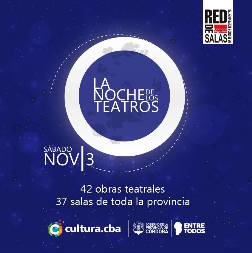 4° Edición de la Noche del Teatro en Córdoba