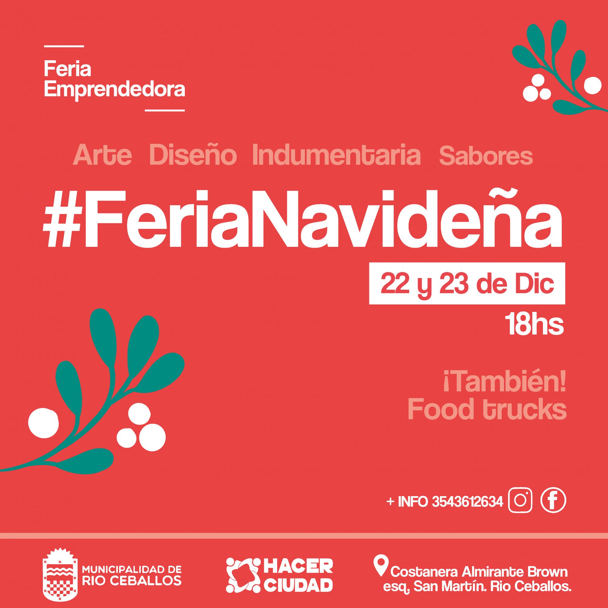 3° Edición para La Feria Navideña en Río Ceballos