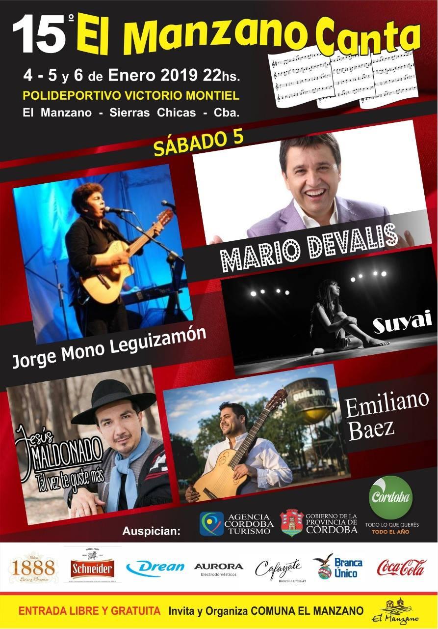 El Manzano Canta en su 15° edición
