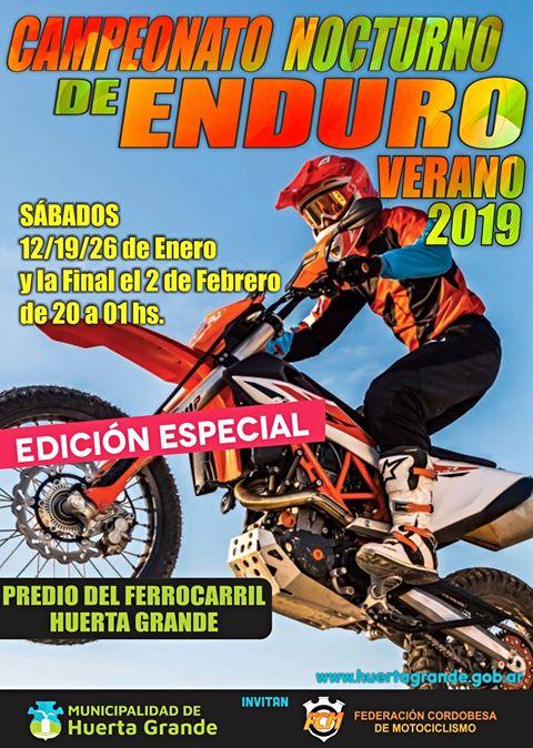Pasión por el motocross en Huerta Grande