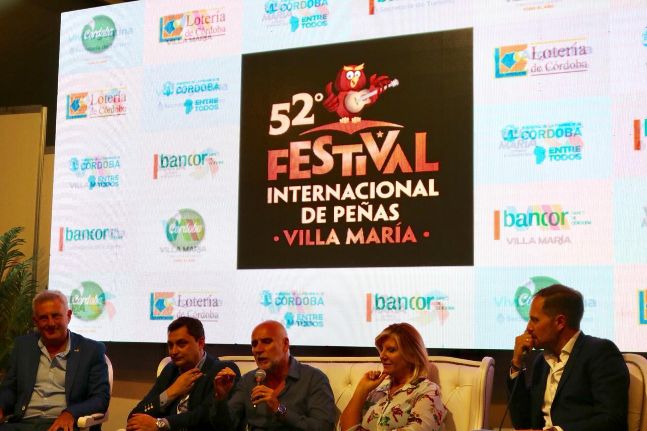 Fue multitudinario el 52 Festival de Peñas de Villa María