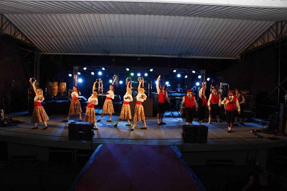 El Indio Rojas y el Paz Martinez en la 45° Fiesta Nacional de la Familia Piamontesa en Luque