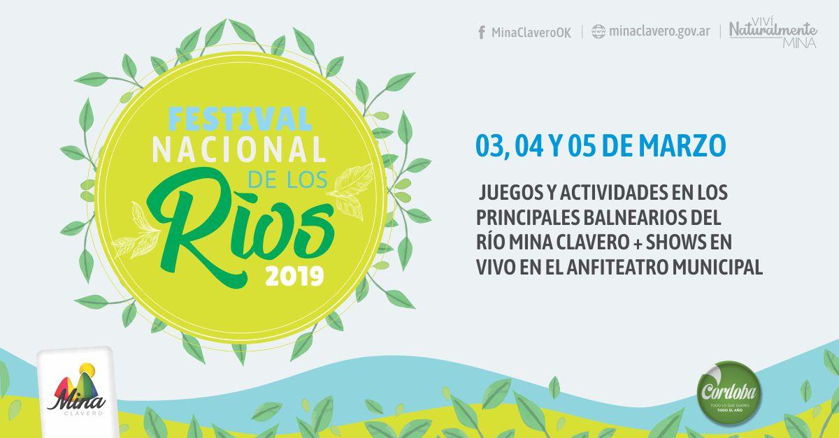 Nueva fecha para el Festival Nacional de los Ríos