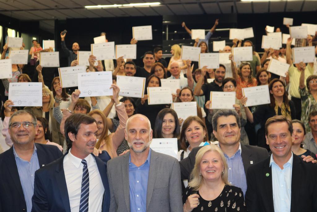 Mas de 300 personas de la Provincia de Córdoba hoy están capacitadas en turismo