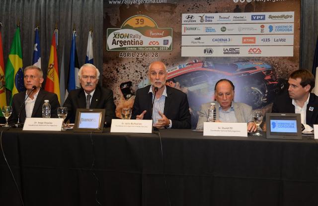 Se presentó oficialmente el Rally Mundial 2019