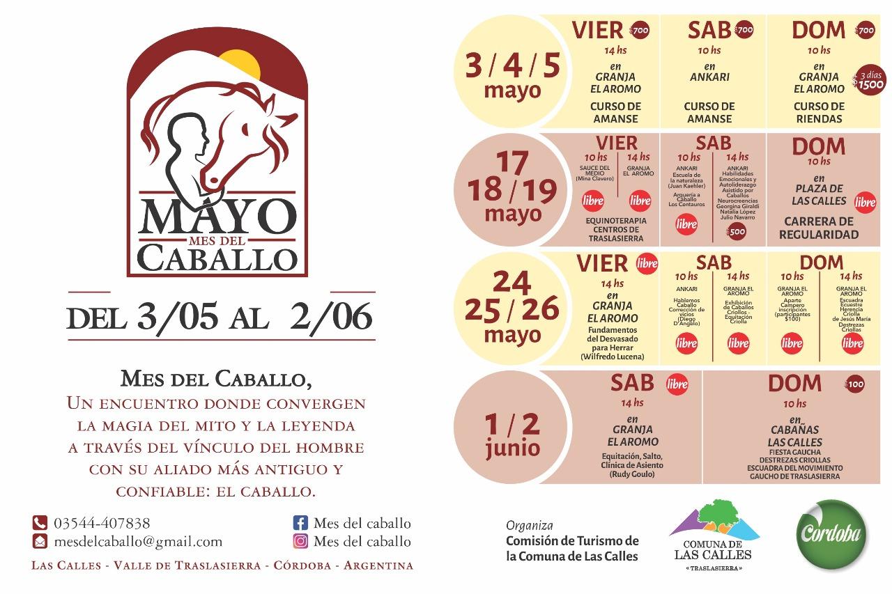 Mayo: Mes del Caballo en el Valle de Traslasierra