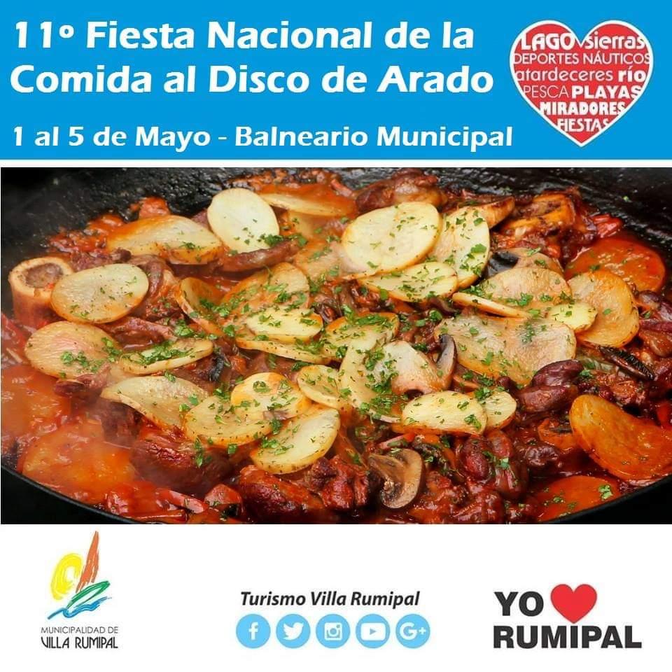 Villa Rumipal presenta la 11° Fiesta Nacional de la Comida al Disco de Arado