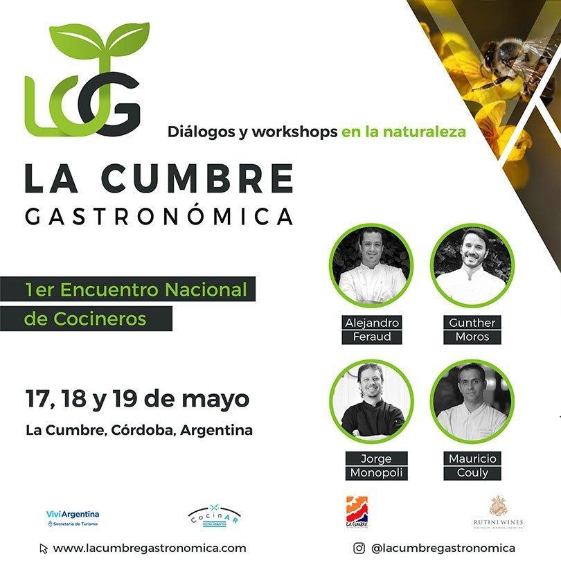 Primer Encuentro de Cocineros del País en La Cumbre
