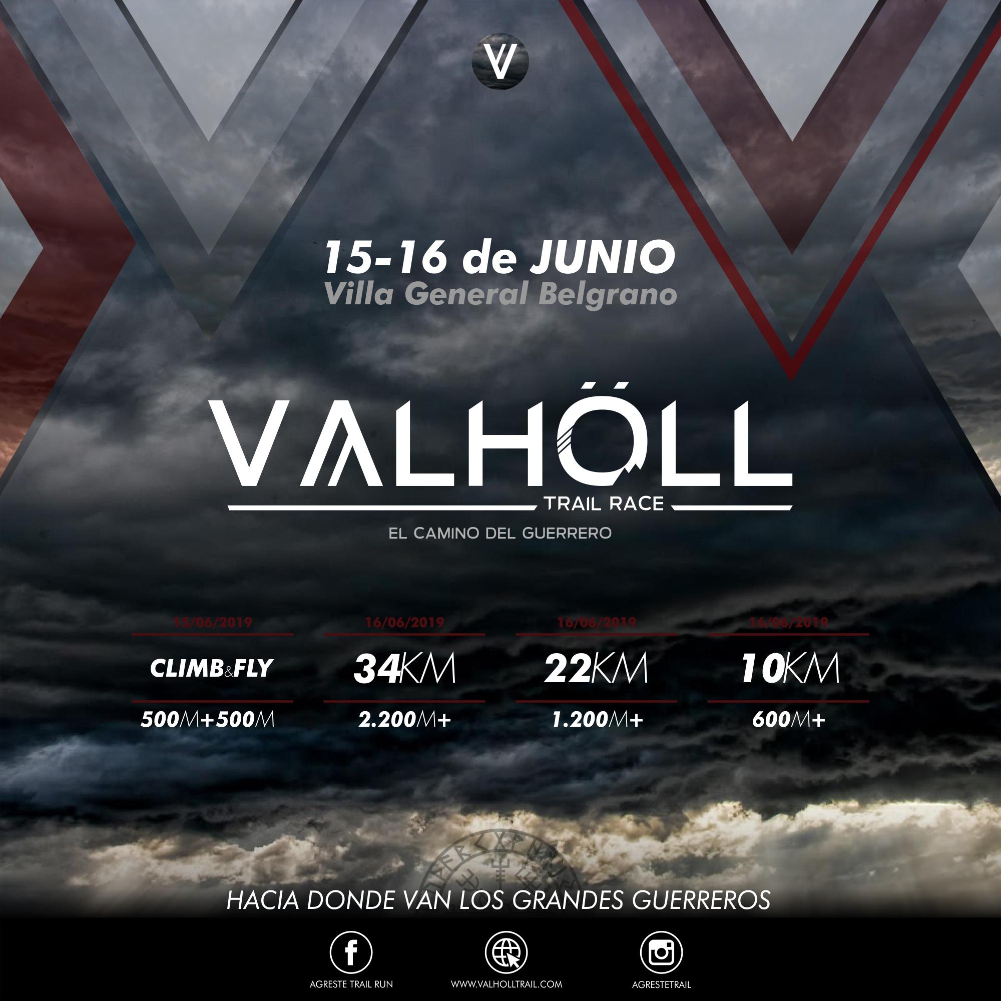 VALHÖLL TRAIL RACE en Villa General Belgrano