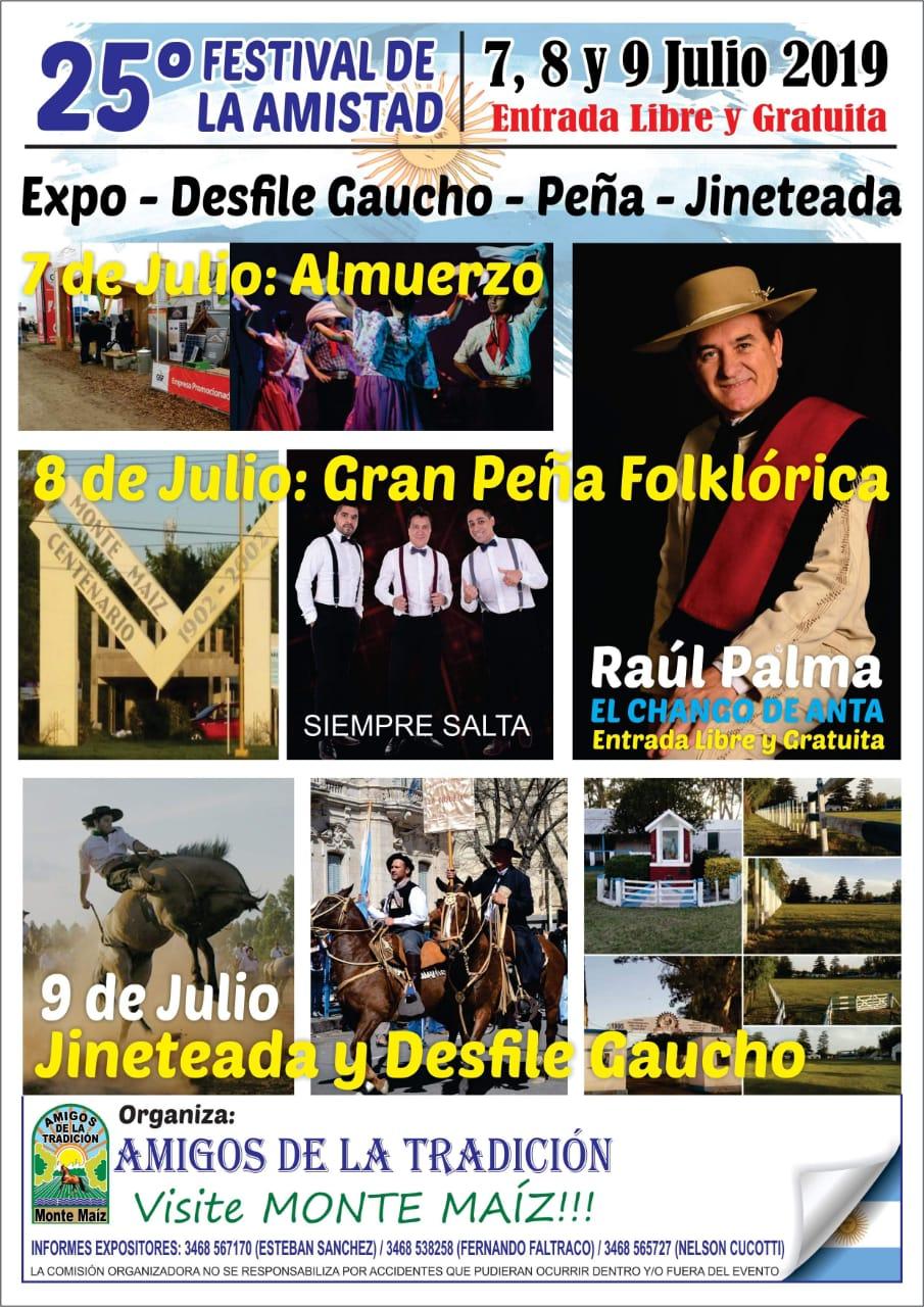 La Doma y el Folklore es sinónimo de festival y amistad en Monte Maíz