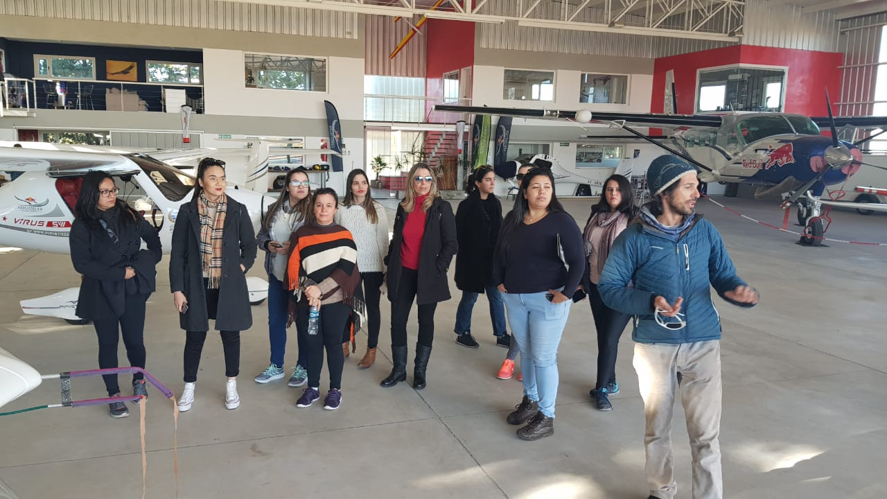 Visitan Córdoba 10 agencias de viajes de Asunción