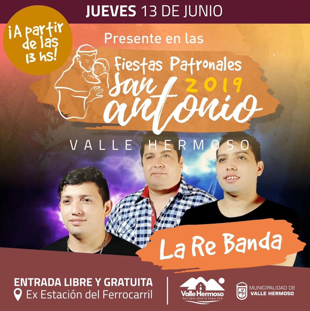 Llegan las Fiestas Patronales 2019 a Valle Hermoso