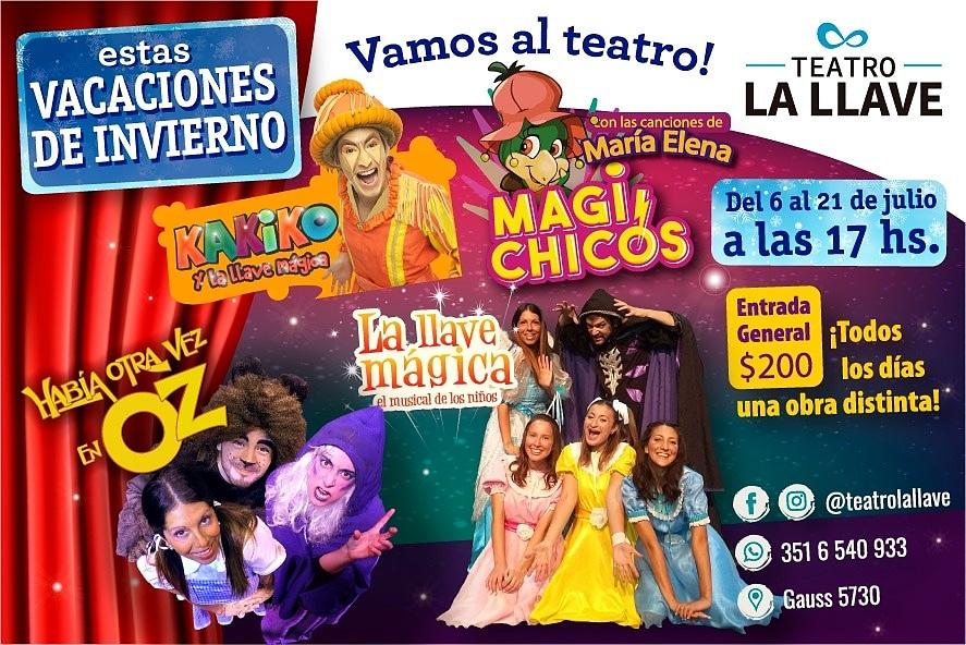 Vacaciones de Invierno en Teatro La Llave