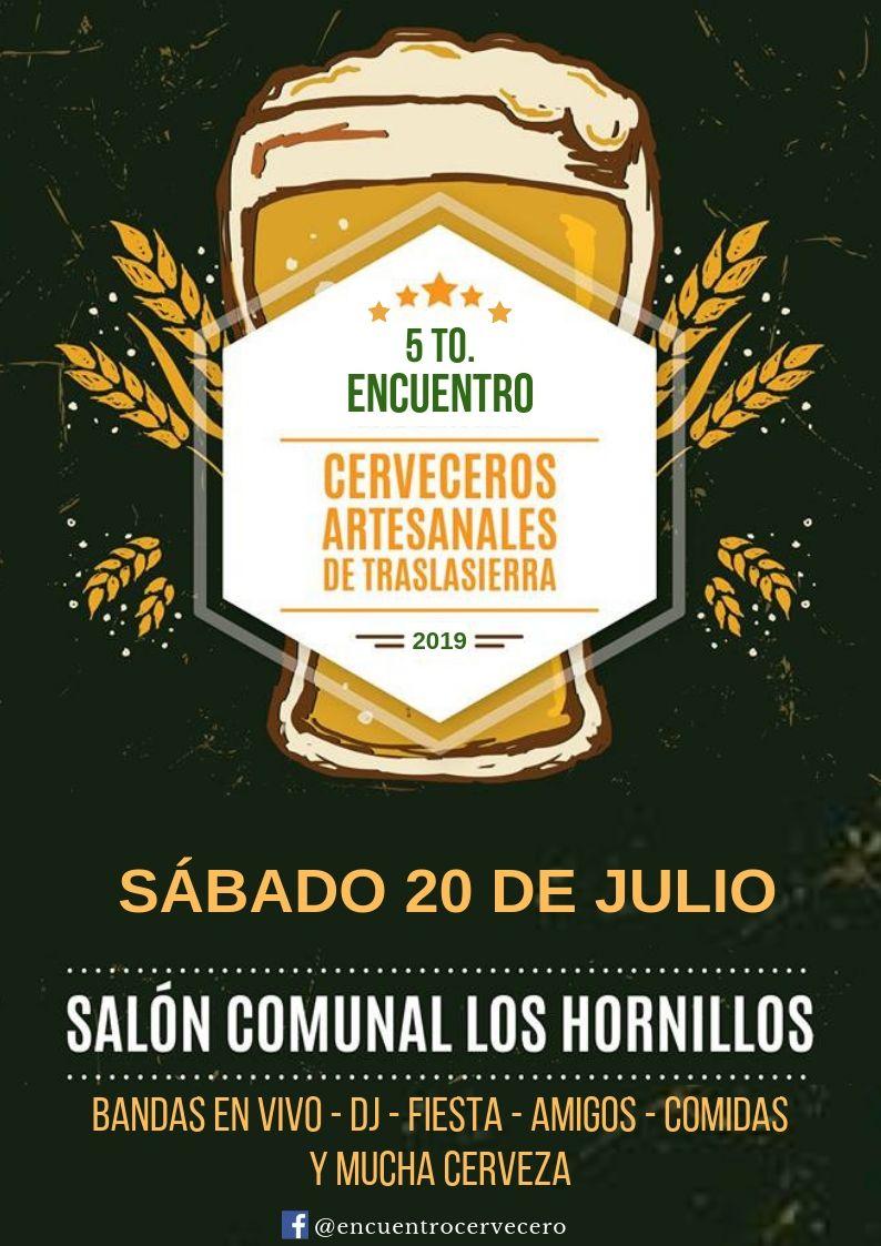Se viene una nueva edición del Encuentro Cervecero de Traslasierra