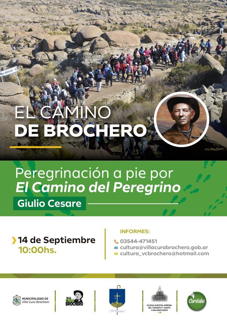 Este sábado se realizará una nueva peregrinación en honor al Cura Brochero
