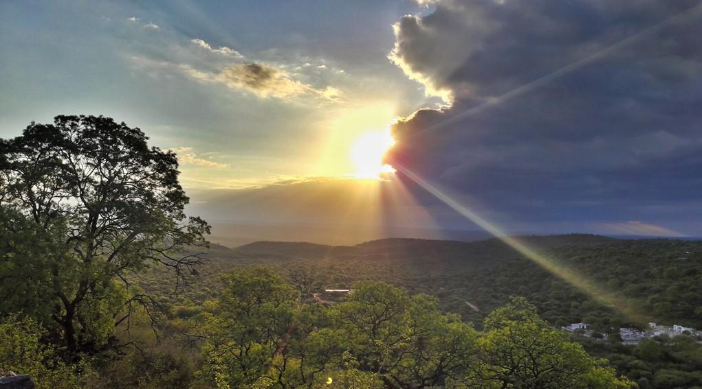 San Marcos Sierras: Sendero al Cerro de la Cruz