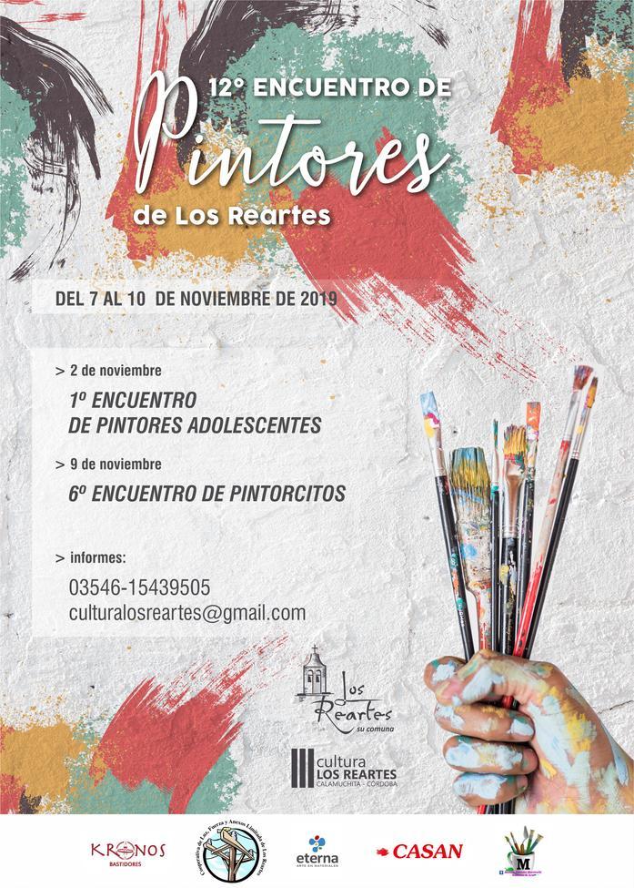 Comenzaron las inscripciones para el 12° Encuentro de Pintores de Los Reartes