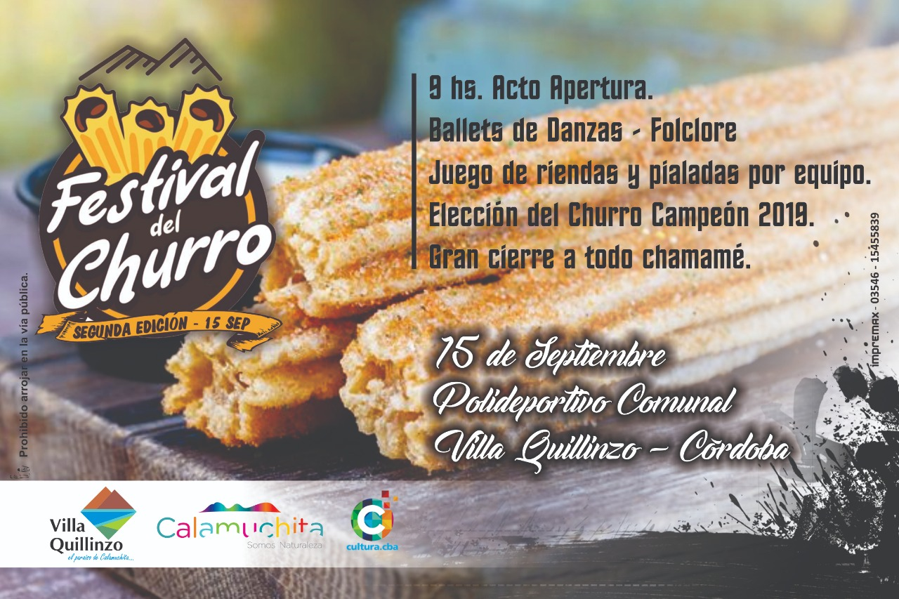 Al pan, pan y al churro en Villa Quillinzo