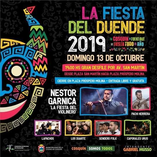 Una fiesta con show musical y desfile en la celebración al Duende