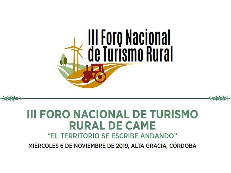 III Foro Nacional de Turismo Rural en Alta Gracia