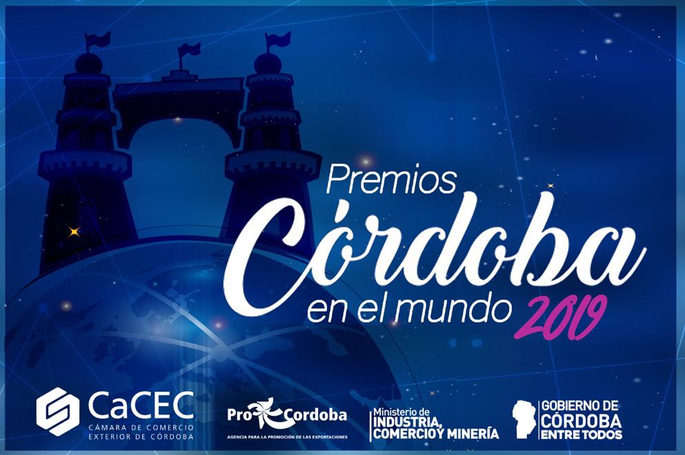 """Se viene la 31° entrega de los Premios """"Córdoba en el Mundo 2019"""""""