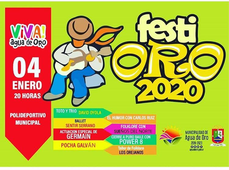 Se presenta el #FestiOro en el Polideportivo Municipal de Agua de Oro