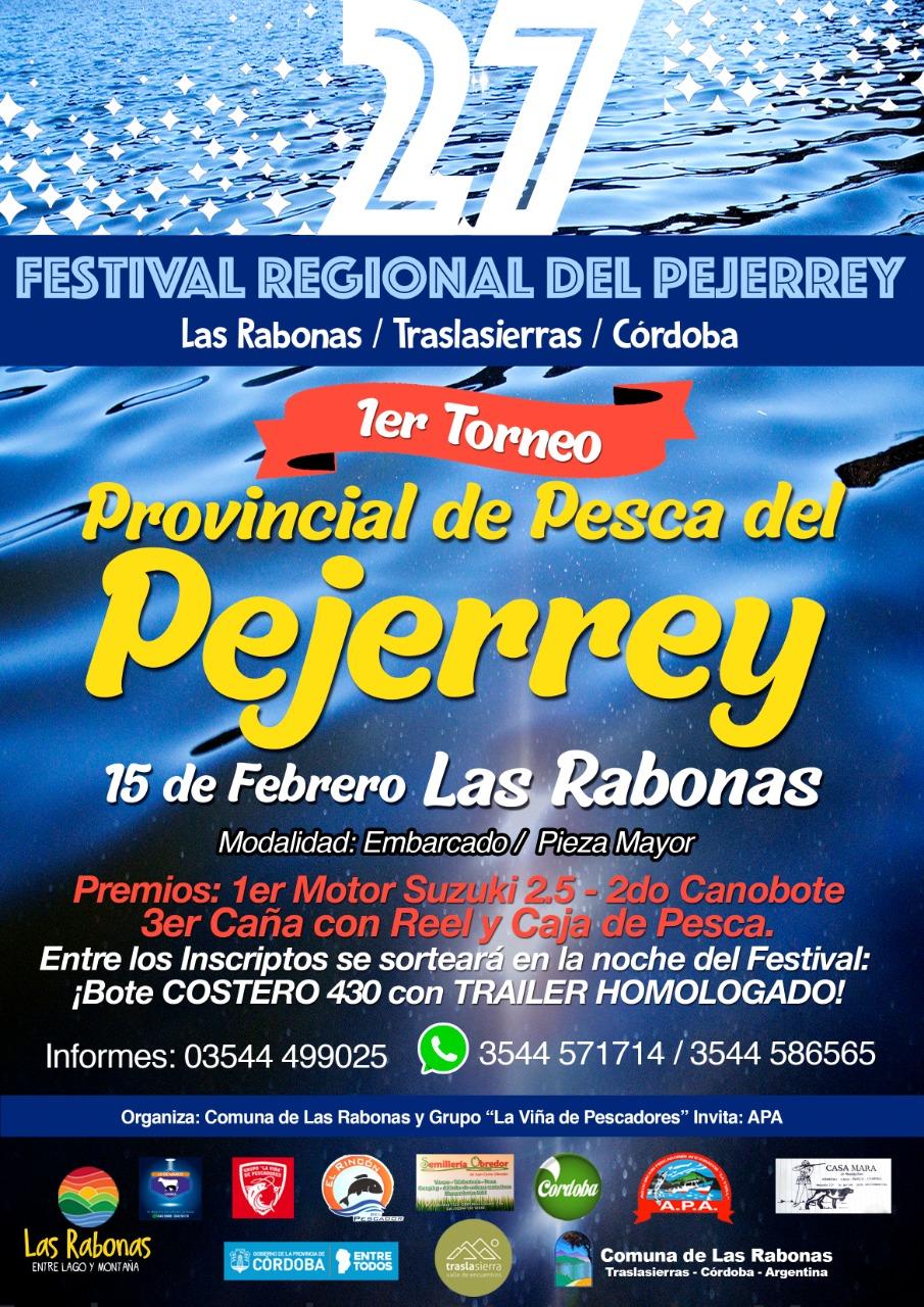 Las Rabonas será la sede del Festival Regional del Pejerrey