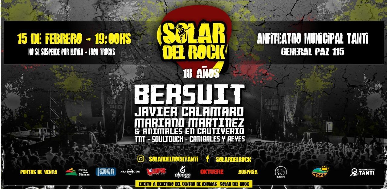 Rock and roll del bueno: La Bersuit Vergarabat y Javier Calamaro en Tanti