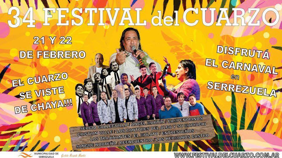 El Festival del Cuarzo: Una fiesta muy popular en el noroeste cordobés
