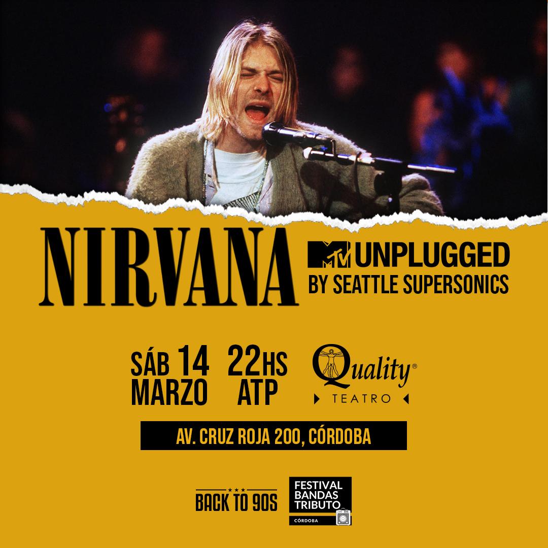 El mejor tributo a Nirvana llega al Quality Teatro