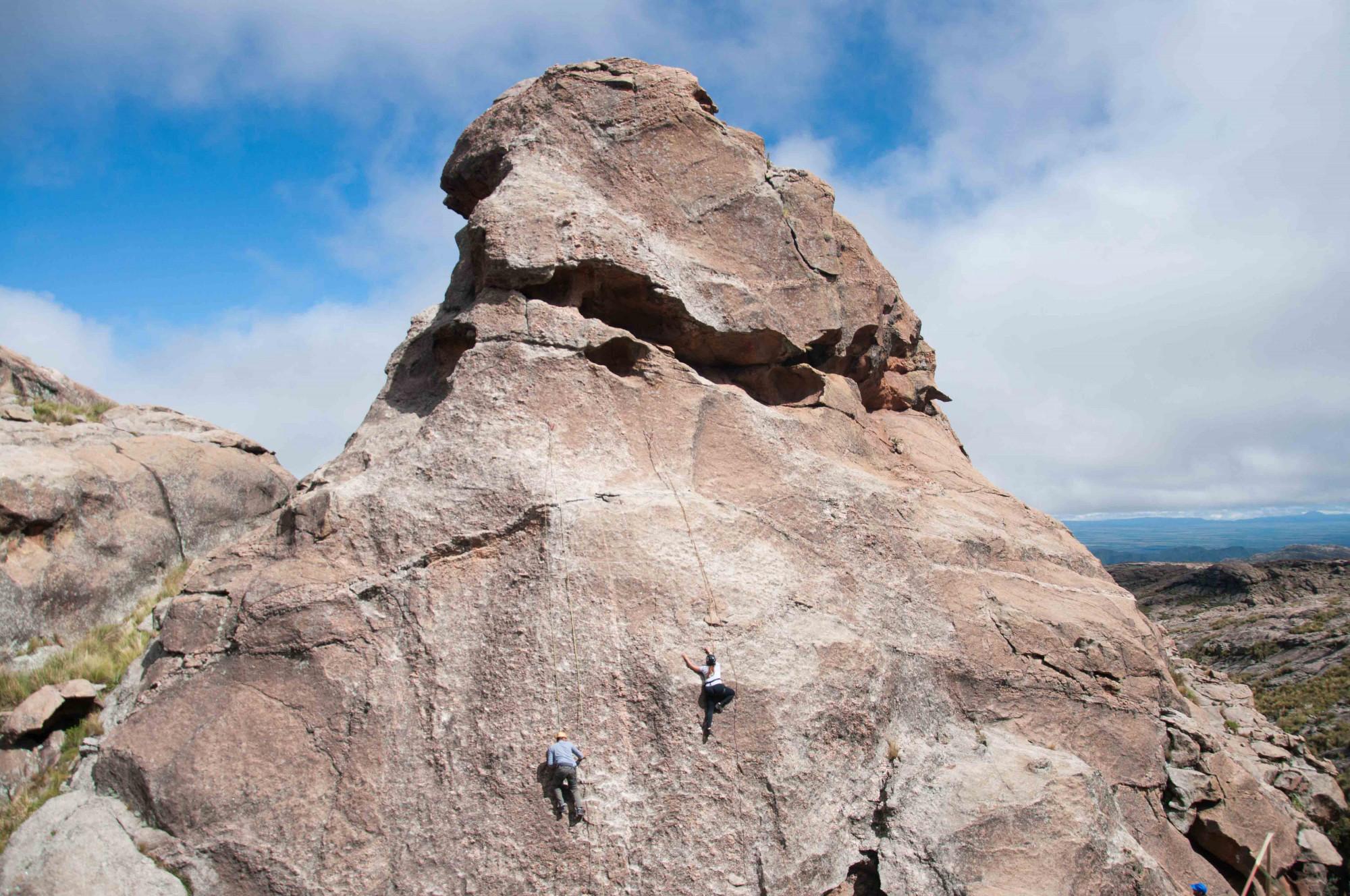 Escaladas en las Altas Cumbres: perspectivas visuales en 360°