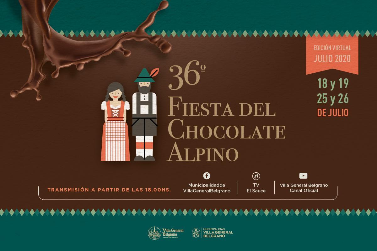 En edición virtual, se presenta la 36° celebración del Chocolate Alpino