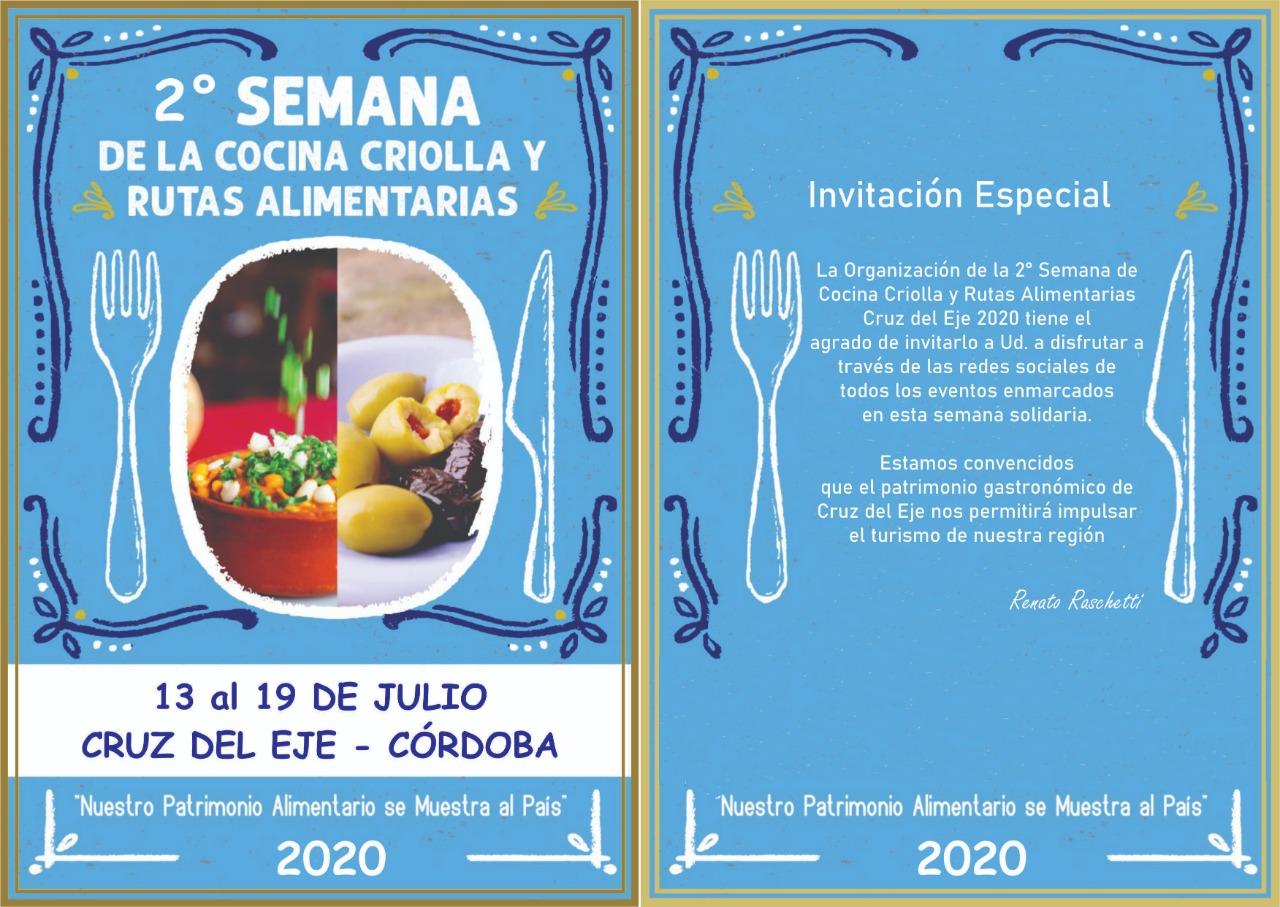 Se presenta en Serrezuela, la Semana de la Cocina Criolla y Rutas Alimentarias