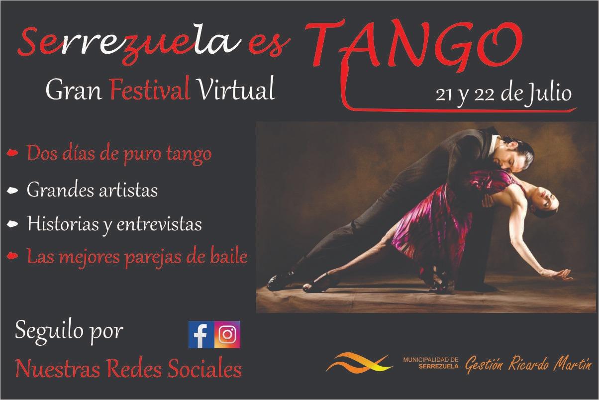 Serrezuela es Tango: destacado festival online