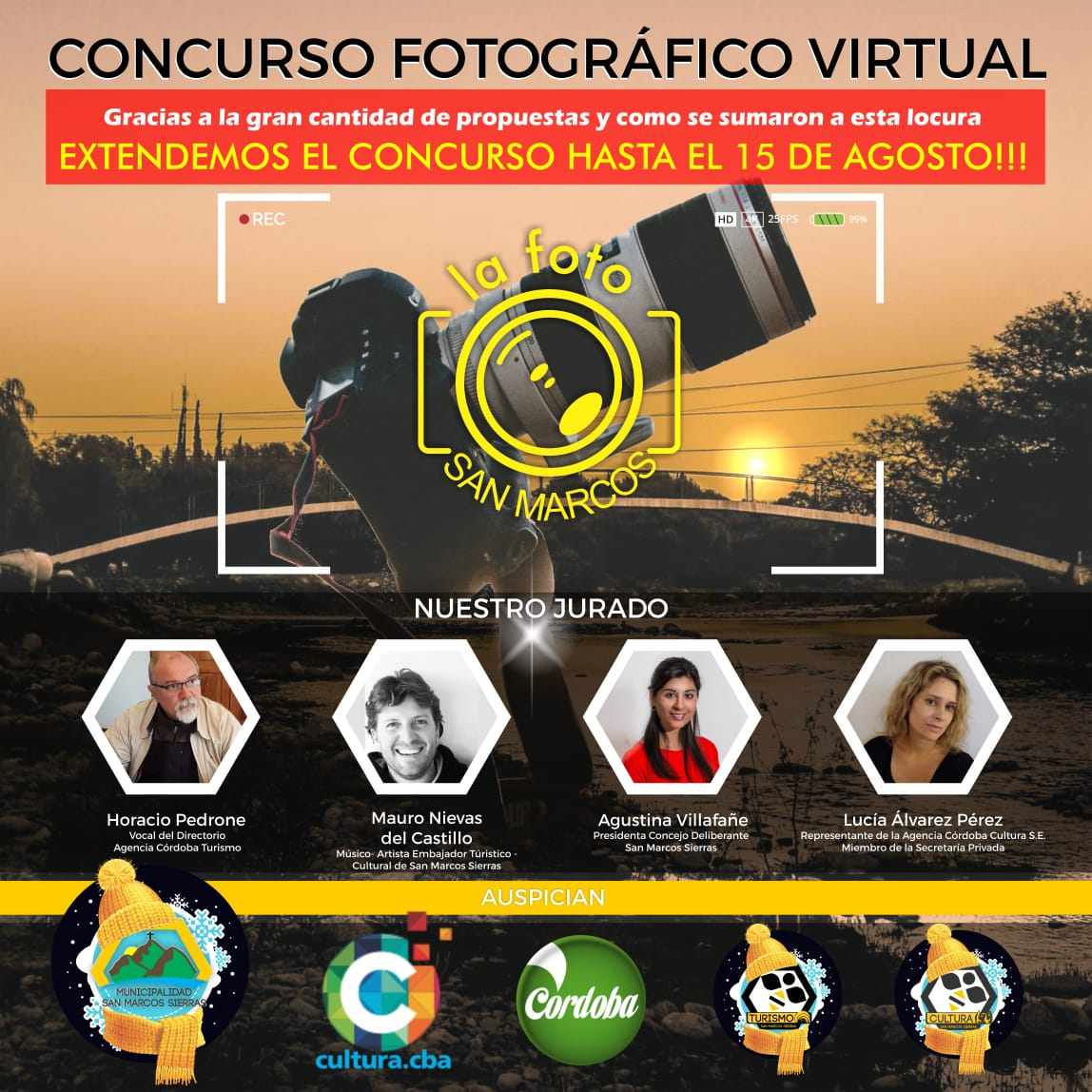 Se extiende el Concurso Fotográfico Virtual de San Marcos Sierras