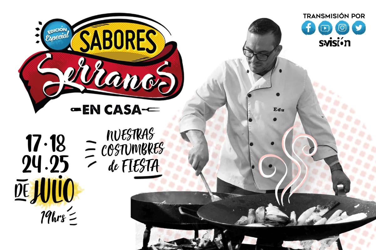 Edición especial de Sabores Serranos en Casa