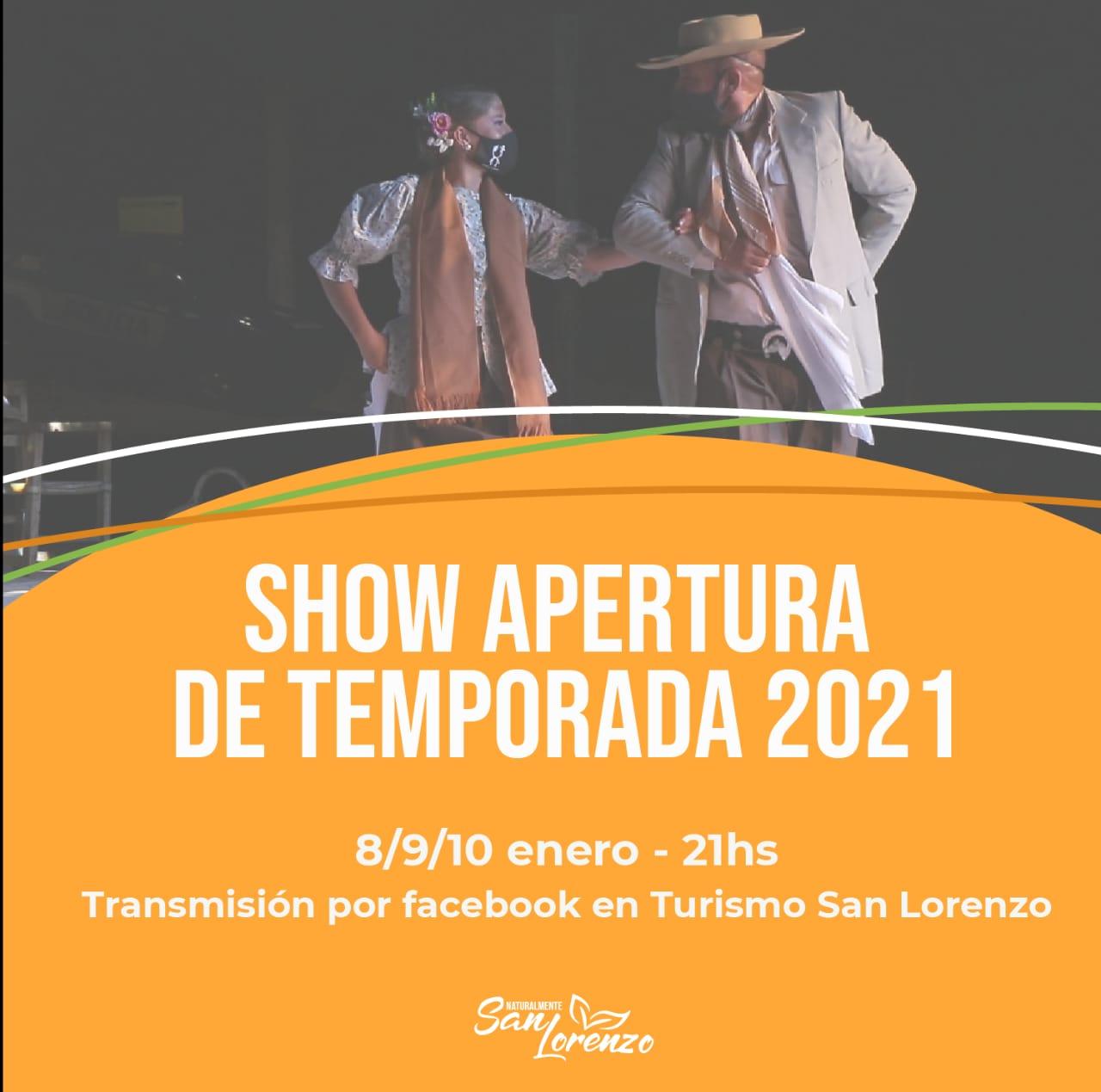 Shows musicales en San Lorenzo: se transmitirán por el Facebook del municipio