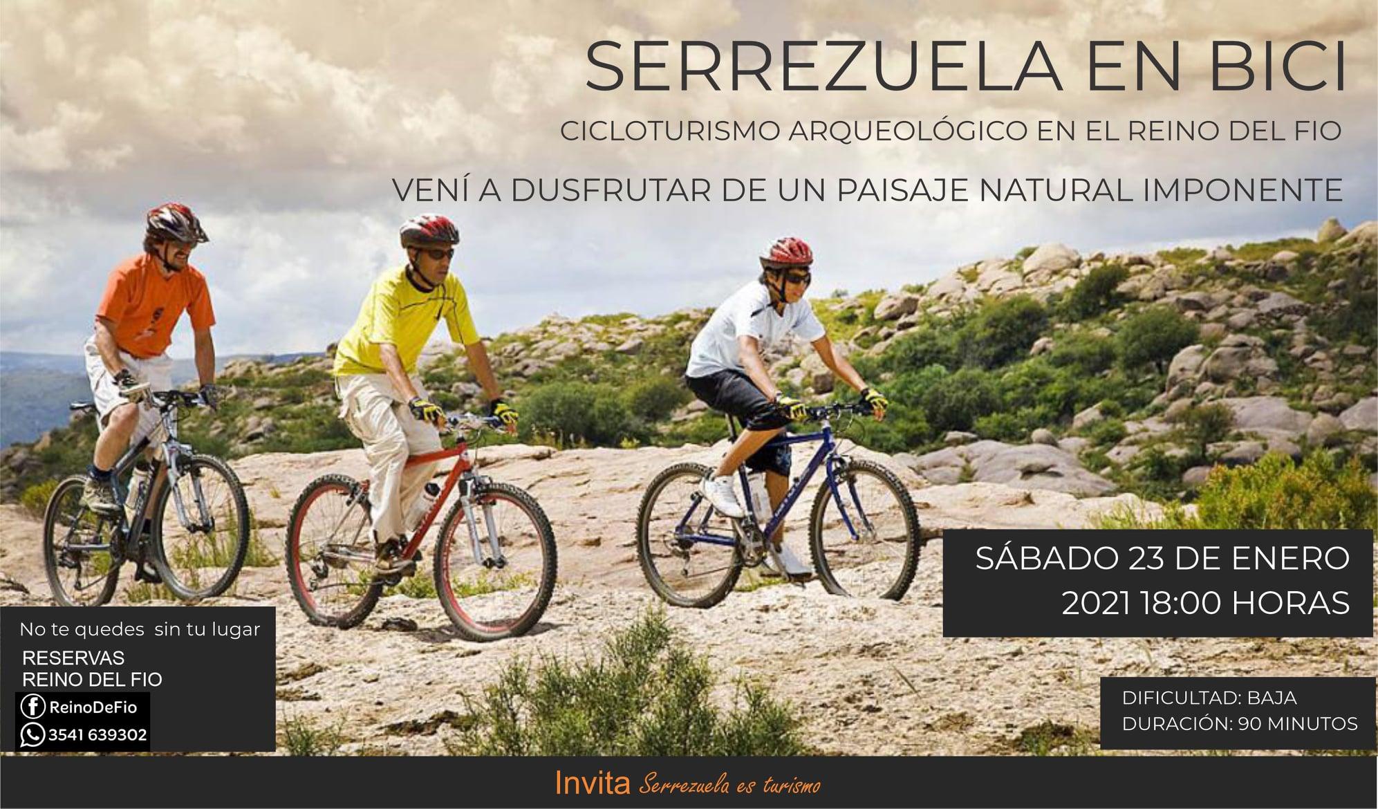 Serrezuela en bici: un recorrido increíble con paisajes imponentes